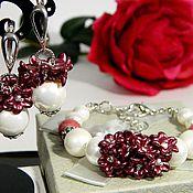 Украшения handmade. Livemaster - original item Earrings Bracelet