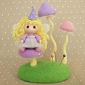 Куклы и игрушки ручной работы. Ярмарка Мастеров - ручная работа Грибочки. Handmade.