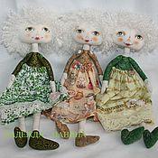 Куклы и игрушки ручной работы. Ярмарка Мастеров - ручная работа Текстильная кукла средняя № 4. Handmade.