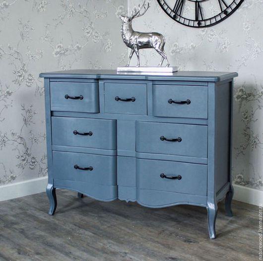 Мебель ручной работы. Ярмарка Мастеров - ручная работа. Купить Комод blue. Handmade. Бирюзовый, мебель в спальню, резьба по дереву