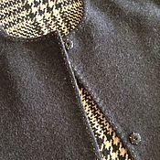 Одежда ручной работы. Ярмарка Мастеров - ручная работа Пальто 2045 двухстороннее клетка. Handmade.