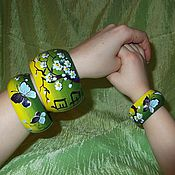 Украшения handmade. Livemaster - original item A set of bracelets Freedom Japanese style. Handmade.