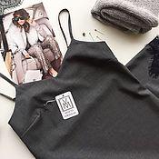 Одежда handmade. Livemaster - original item The dress is a combination of Italian wool. Handmade.
