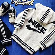 Одежда детская handmade. Livemaster - original item Nike tracksuit for baby. Handmade.