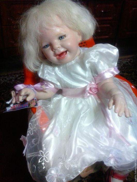 Куклы-младенцы и reborn ручной работы. Ярмарка Мастеров - ручная работа. Купить Мария. Handmade. Бежевый, для женщин, для детей, шёлк