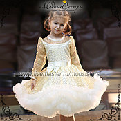 "Работы для детей, handmade. Livemaster - original item Baby dress ""Zlata"" Art.-079. Handmade."