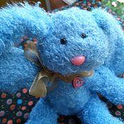 Куклы и игрушки ручной работы. Ярмарка Мастеров - ручная работа Амигуруми Зайка мягкий пушистик. Handmade.