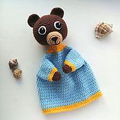 Куклы и игрушки handmade. Livemaster - original item Glove doll Bear Bear. Handmade.