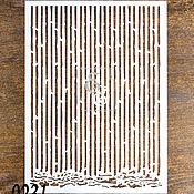 Материалы для творчества handmade. Livemaster - original item The stencil