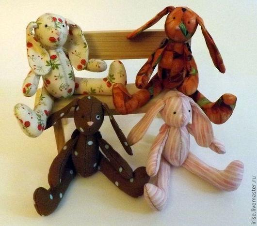 Куклы Тильды ручной работы. Ярмарка Мастеров - ручная работа. Купить Зайки Морковка,Малинка,Шоколадка,Зефирка и другие. Handmade.