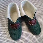 Обувь ручной работы. Ярмарка Мастеров - ручная работа Валяные мужские чуни. Handmade.