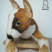 Куклы и игрушки handmade. Livemaster - original item Puppy Bullterrier by name Richie. Handmade.