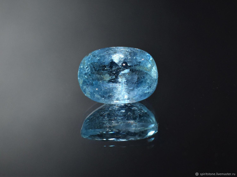 2.62 ct. Аквамарин (Бразилия).  100% Природный камень, Кольца, Красноярск,  Фото №1