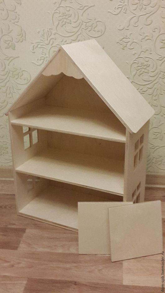 Кукольный дом ручной работы. Ярмарка Мастеров - ручная работа. Купить Кукольный домик 1.2 ручной работы в наличии. Handmade.