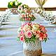Свадебные композиции в стиле Шебби Шик