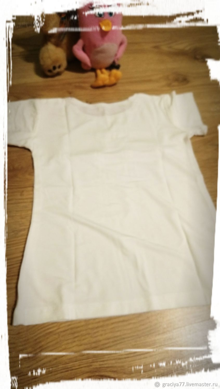 Блуза с котятным принтом