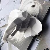 Материалы для творчества handmade. Livemaster - original item Silicone molds for soap Geometric elephant. Handmade.