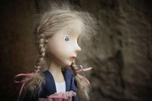 Коллекционные куклы ручной работы. Ярмарка Мастеров - ручная работа. Купить здравствуй, грусть. Handmade. Авторская кукла