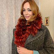 Аксессуары handmade. Livemaster - original item Fur scarf. Handmade.