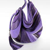 Сумки и аксессуары ручной работы. Ярмарка Мастеров - ручная работа в наличии Перо антик2 фиолет. Handmade.