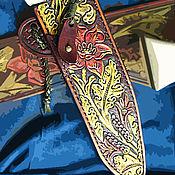 Сувениры и подарки ручной работы. Ярмарка Мастеров - ручная работа Ножны кожаные для ножа. Handmade.