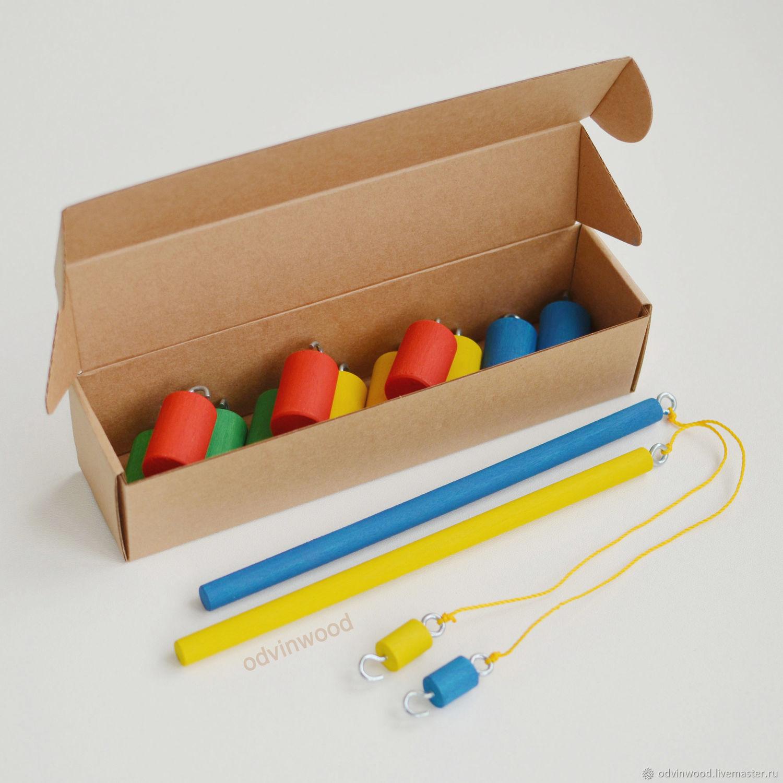 Развивающие игрушки для детей из дерева