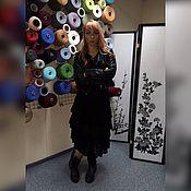 Одежда ручной работы. Ярмарка Мастеров - ручная работа Юбка вязаная №110 из нежнейшего итальянского кид-мохера. Handmade.