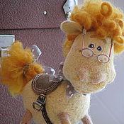 Куклы и игрушки ручной работы. Ярмарка Мастеров - ручная работа лошадка Матильдочка. Handmade.