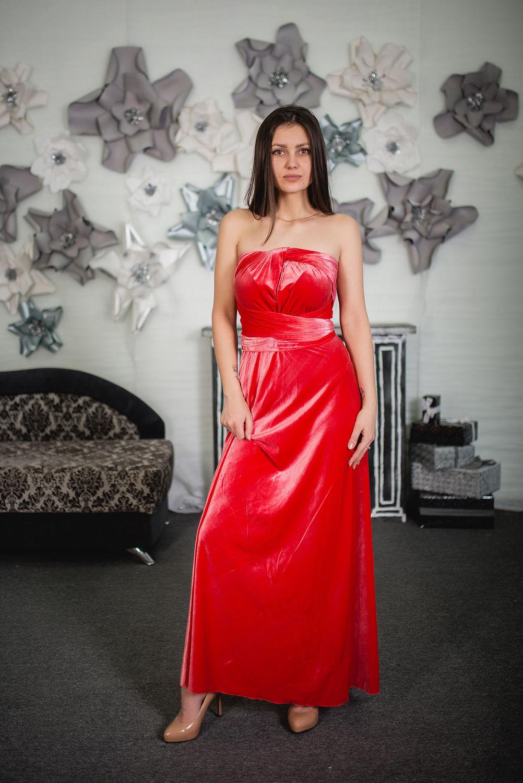 Шапки ручной работы. Ярмарка Мастеров - ручная работа. Купить Платье-трансформер из бархата. Вечернее платье. Выпускное платье. Handmade.