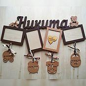 Для дома и интерьера ручной работы. Ярмарка Мастеров - ручная работа Детская метрика (подарок новорожденному). Handmade.