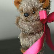 Куклы и игрушки ручной работы. Ярмарка Мастеров - ручная работа Медвежонок Плюшка. Handmade.
