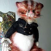 Куклы и игрушки ручной работы. Ярмарка Мастеров - ручная работа Кот Эдгар. Handmade.