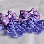 """Работы для детей, ручной работы. Ярмарка Мастеров - ручная работа Резинки для волос """"Фиолет"""". Handmade."""