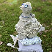 Куклы и игрушки ручной работы. Ярмарка Мастеров - ручная работа Вязаная игрушка курица. Невеста на выданье.. Handmade.