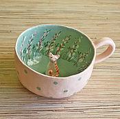 """Посуда ручной работы. Ярмарка Мастеров - ручная работа Кружка """" Посчитай котов в доме"""". Handmade."""