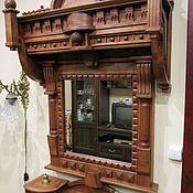 Зеркала ручной работы. Ярмарка Мастеров - ручная работа Зеркала: Рама для зеркала сложная. Handmade.