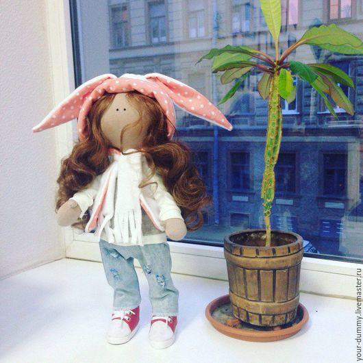 Коллекционные куклы ручной работы. Ярмарка Мастеров - ручная работа. Купить Куколки. Handmade. Серый, кукла Тильда, трикотаж хлопок