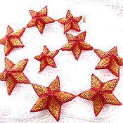 Украшения ручной работы. Ярмарка Мастеров - ручная работа Колье Кремлевские звезды. Handmade.