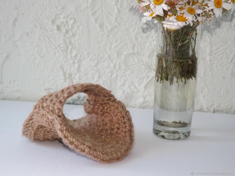 Джутовая мочалка. Мочалка-рукавица. Мочалка-мешочек из джута. Мочалка, Мочалки, Симферополь,  Фото №1