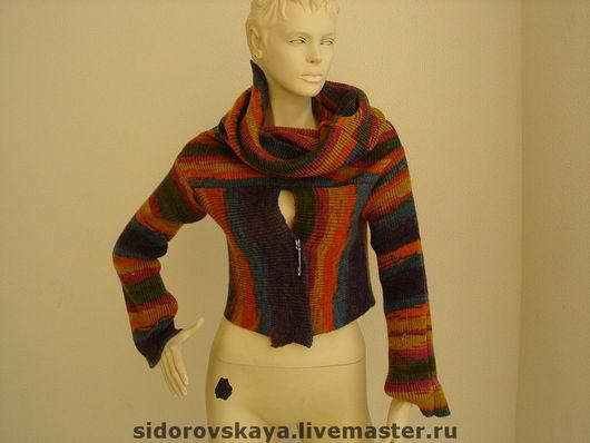 Кофты и свитера ручной работы. Ярмарка Мастеров - ручная работа. Купить Джемпер-платье (трансформер). Handmade. Шерсть