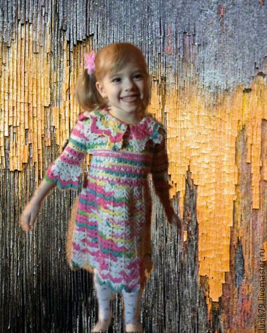 Одежда для девочек, ручной работы. Ярмарка Мастеров - ручная работа. Купить Всесезонное платье для девочки. Handmade. Платье, платье вязаное