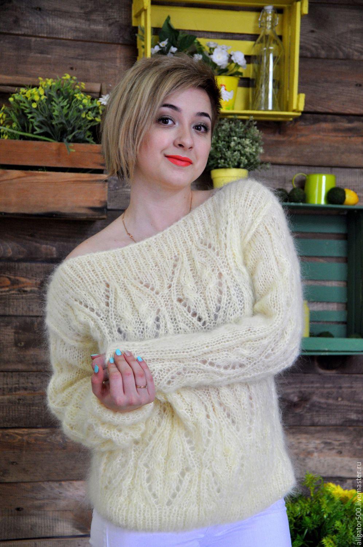 Вязание женские модели из мохера