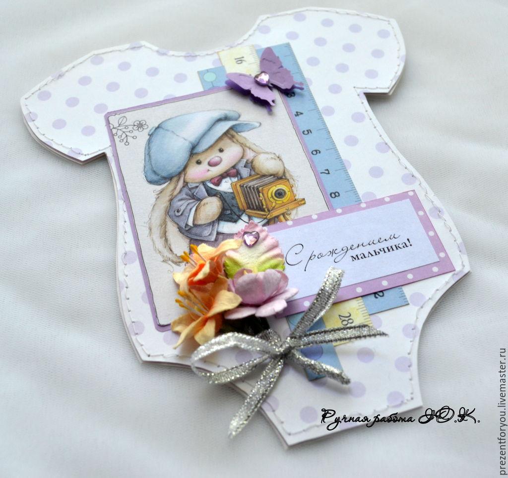 Открытки из скрапбукинга с новорожденным 979