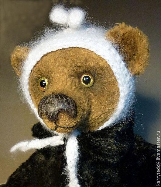 Мишки Тедди ручной работы. Ярмарка Мастеров - ручная работа. Купить Маруся. Handmade. Коричневый, мишка девочка, бумага