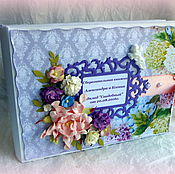Свадебный салон ручной работы. Ярмарка Мастеров - ручная работа Cберегательная книжка для молодоженов. Handmade.