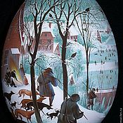 Сувениры и подарки ручной работы. Ярмарка Мастеров - ручная работа Яйцо. Брейгель. Handmade.