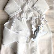Комплекты одежды ручной работы. Ярмарка Мастеров - ручная работа Крестильный набор для девочки. Handmade.