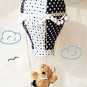 """Для дома и интерьера ручной работы. Ярмарка Мастеров - ручная работа """"Навстречу мечте"""" - текстильный воздушный шар.. Handmade."""