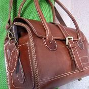 Сумки и аксессуары handmade. Livemaster - original item Bag of thick skin. Handmade.