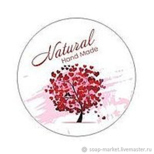 Наклейка Natural  В наличии три цвета, Упаковка, Орел, Фото №1